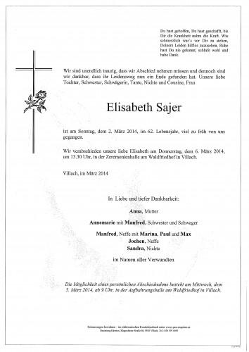 Elisabeth Sajer