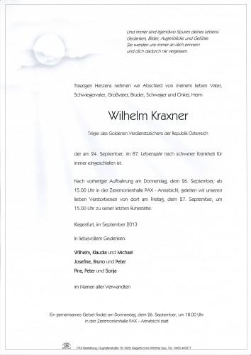 Wilhelm Kraxner