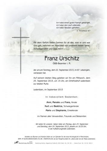 Franz Urschitz