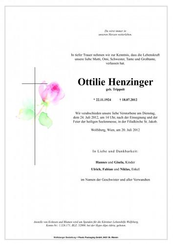 Ottilie Henzinger