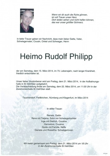 Heimo Rudolf Philipp