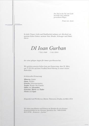 DI Ioan Gurban