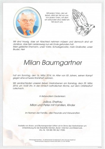 Milan Baumgartner