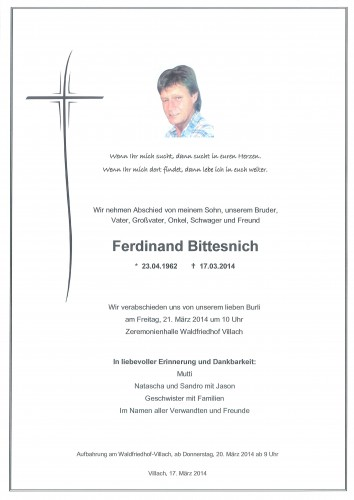Ferdinand Bittesnich