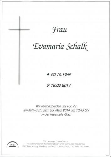 Evamaria Schalk