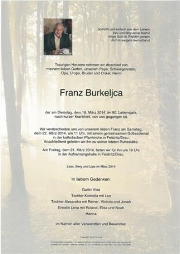 Franz Burkeljca
