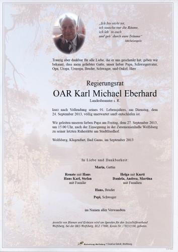 Regierungsrat OAR Karl Eberhard