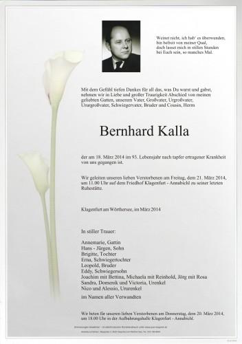 Bernhard Kalla