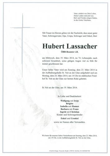 Hubert Lassacher