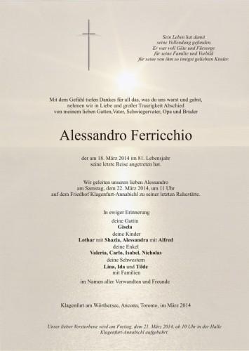 Alessandro Ferricchio