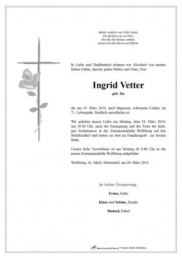Ingrid Vetter