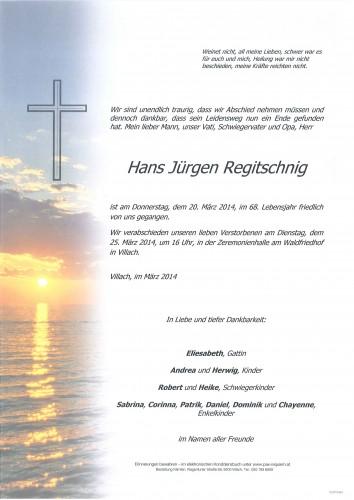 Hans Jürgen Regitschnig