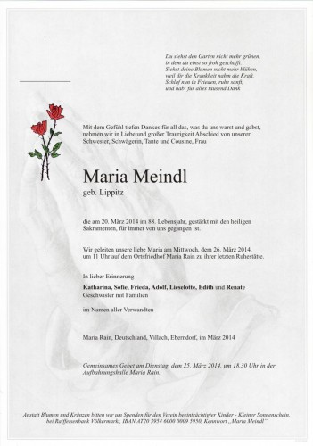 Maria Meindl
