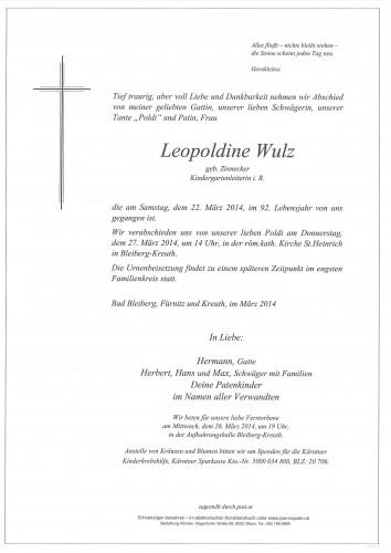 Leopoldine Wulz