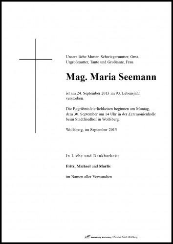 Mag. Maria Seemann