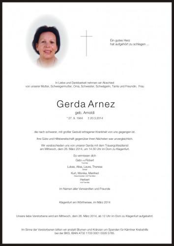 Gerda Arnez