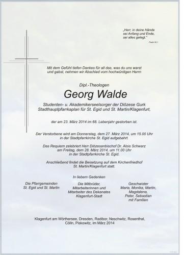 Georg Walde