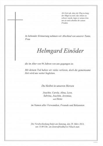 Helmgard Einöder