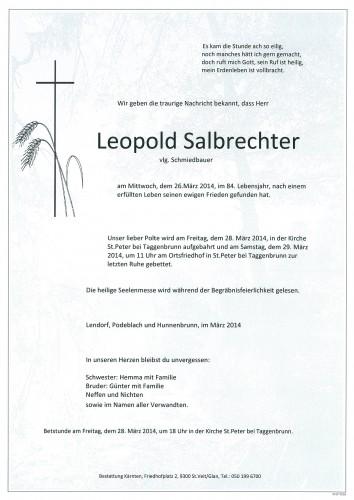 Leopold Salbrechter