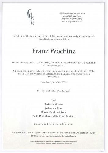 Franz Wochinz
