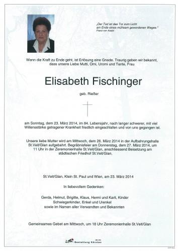 Elisabeth Fischinger