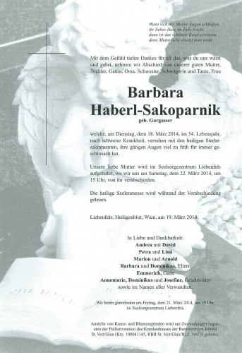 Barbara Haberl-Sakoparnik