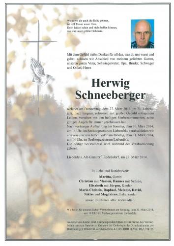 Herwig  Schneeberger