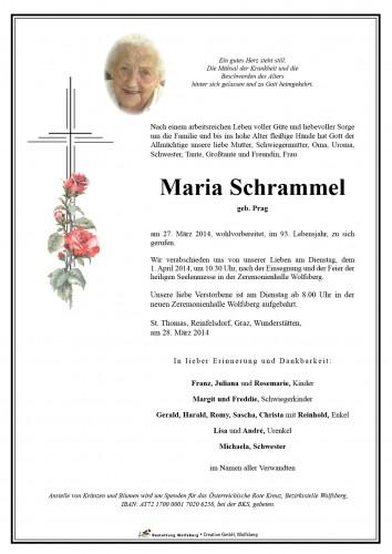 Maria Schrammel