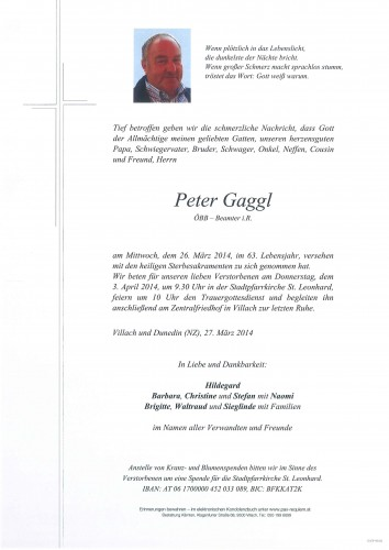 Peter Gaggl