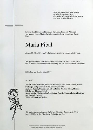 Maria Pibal