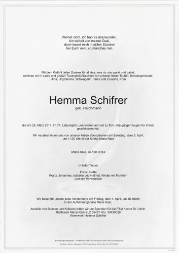 Hemma Schifrer
