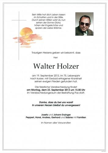 Walter Holzer