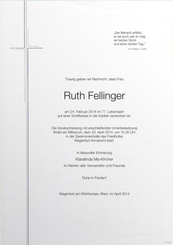 Ruth Fellinger