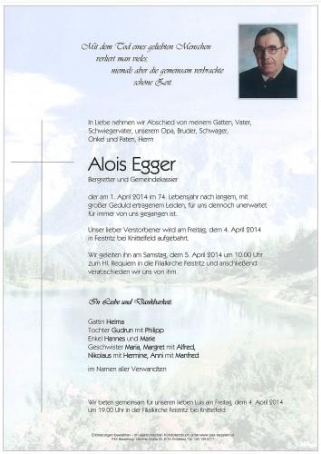 Alois Egger