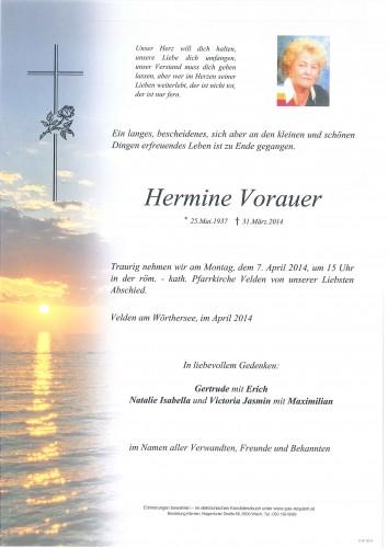 Hermine Theresia Vorauer