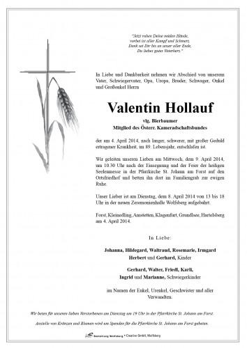 Valentin Hollauf