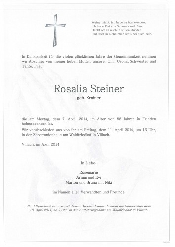 Rosalia Steiner