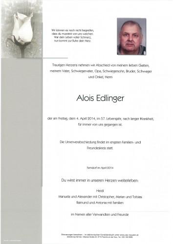 Alois Edlinger