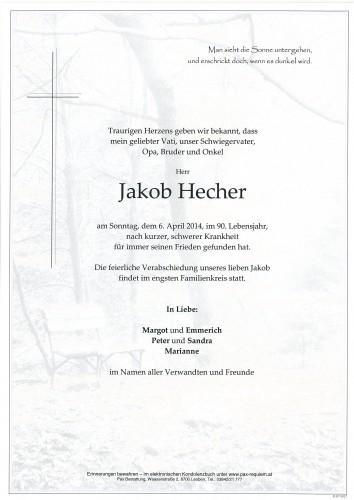 Jakob Hecher