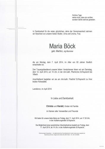 Maria Böck