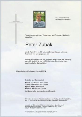 Peter Zubak
