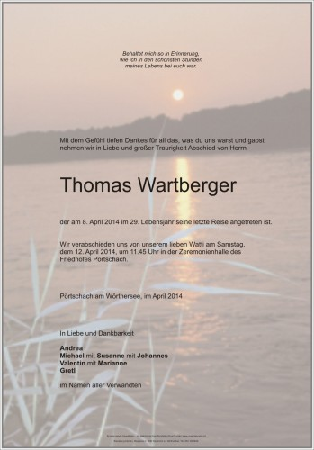 Thomas Wartberger