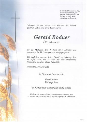 Gerald Bodner