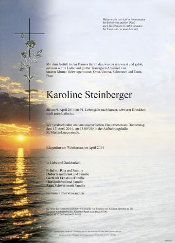 Karoline Steinberger