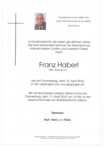 Franz Haberl