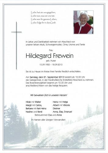 Hildegard Frewein