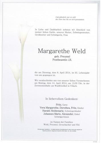 Margarethe Weld