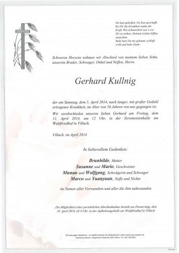 Gerhard Kullnig