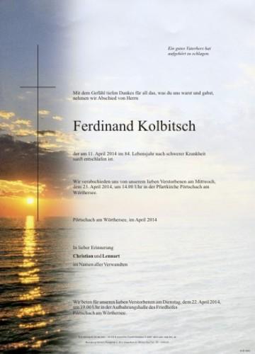 Ferdinand Kolbitsch