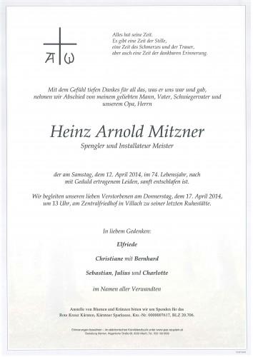 Heinz Arnold Mitzner